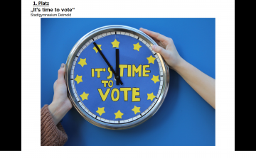 It`s time to vote - Stadtgynasium Detmold